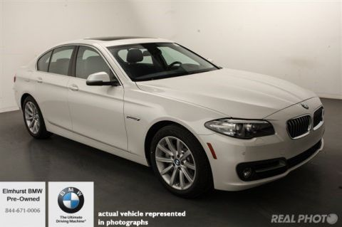 Pre-Owned 2015 BMW 5 Series 535i xDrive With Navigation & AWD