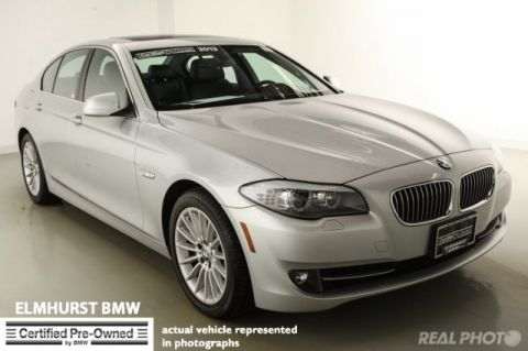 Certified Pre-Owned 2013 BMW 5 Series 535i RWD 4dr Car