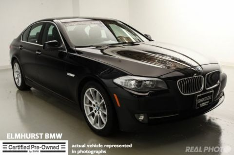 Certified Pre-Owned 2012 BMW 5 Series 535i RWD 4dr Car