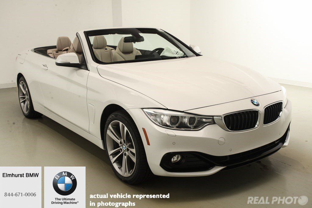 New 2017 Bmw 4 Series 430i Xdrive Convertible Convertible